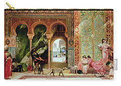 A Royal Palace In Morocco Carry-all Pouch by Benjamin Jean Joseph Constant