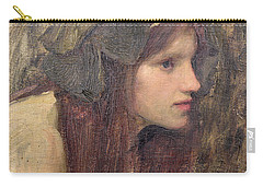 A Study For A Naiad Carry-all Pouch by John William Waterhouse