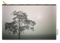 A Walk Through The Clouds #fog #nuneaton Carry-all Pouch by John Edwards