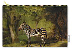 A Zebra Carry-all Pouch by George Stubbs