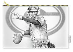 Aaron Murray Carry-all Pouch by Greg Joens