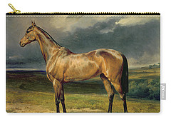 Abdul Medschid The Chestnut Arab Horse Carry-all Pouch by Carl Constantin Steffeck