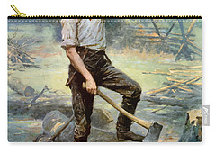 Abe Lincoln The Rail Splitter  Carry-all Pouch by War Is Hell Store