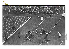 Albie Booth Kick Beats Harvard Carry-all Pouch by Underwood Archives