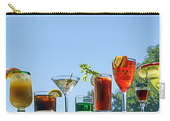 Alcoholic Beverages - Outdoor Bar Carry-all Pouch by Nikolyn McDonald