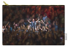 All Hail Eddie Vedder Carry-all Pouch by Toby McGuire