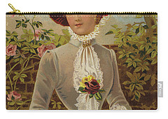 All In A Garden Fair Carry-all Pouch by English School