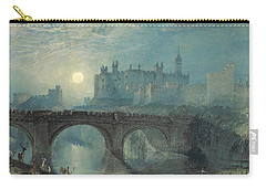 Alnwick Castle Carry-all Pouch by Joseph Mallord William Turner