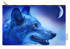 Alpha Wolf Carry-all Pouch by Mal Bray