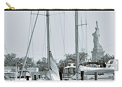 America II And The Statue Of Liberty Carry-all Pouch by Sandy Taylor