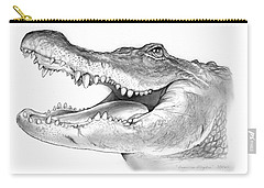 American Alligator Carry-all Pouch by Greg Joens