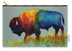 American Buffalo IIi Carry-all Pouch by Hailey E Herrera