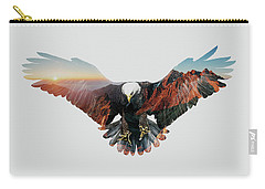 American Eagle Carry-all Pouch by John Beckley