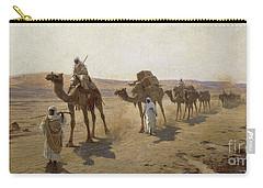 An Arab Caravan Carry-all Pouch by Ludwig Hans Fischer