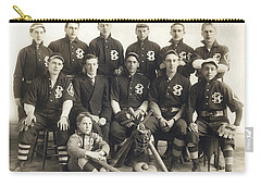 An Early Sf Baseball Team Carry-all Pouch by American School