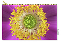Anemone Hupehensis 'hadspen Carry-all Pouch by John Edwards