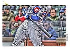 Anthony Rizzo Chicago Cubs Carry-all Pouch by Joe Hamilton