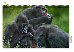 Ape Moods Carry-all Pouch by Carol Cavalaris
