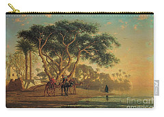Arab Oasis Carry-all Pouch by Narcisse Berchere
