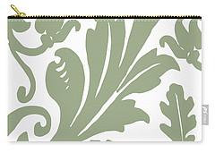 Arielle Olive Carry-all Pouch by Mindy Sommers