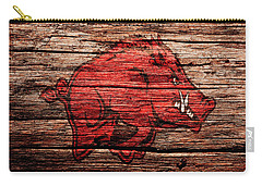 Arkansas Razorbacks 1a Carry-all Pouch by Brian Reaves
