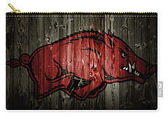 Arkansas Razorbacks 2b Carry-all Pouch by Brian Reaves