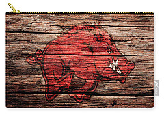 Arkansas Razorbacks Carry-all Pouch by Brian Reaves