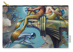 Array Of Hope And Change Carry-all Pouch by Patrick Anthony Pierson