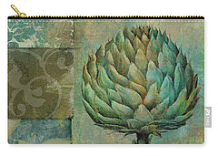 Artichoke Margaux Carry-all Pouch by Mindy Sommers