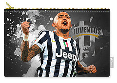 Arturo Vidal Carry-all Pouch by Semih Yurdabak