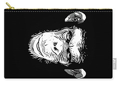Evil Monkey Carry-all Pouch by Nicklas Gustafsson