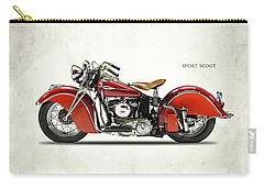 Indian Sport Scout 1940 Carry-all Pouch by Mark Rogan