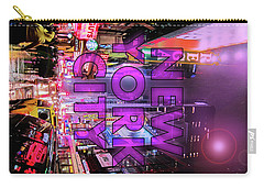 New York City - Color Carry-all Pouch by Nicklas Gustafsson