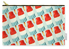 Bomb Pop Pattern Carry-all Pouch by Kelly Gilleran