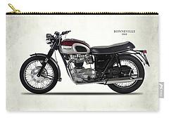 Triumph Bonneville T120 1968 Carry-all Pouch by Mark Rogan