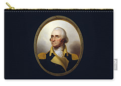General Washington - Porthole Portrait  Carry-all Pouch by War Is Hell Store