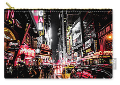 New York City Night II Carry-all Pouch by Nicklas Gustafsson