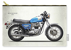 Bonneville T140 1979 Carry-all Pouch by Mark Rogan