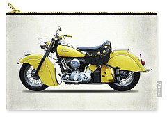 Indian Chief 1951 Carry-all Pouch by Mark Rogan