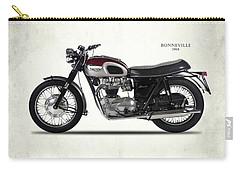 Triumph Bonneville 1968 Carry-all Pouch by Mark Rogan