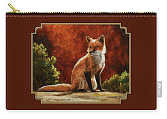 Sun Fox Carry-all Pouch by Crista Forest
