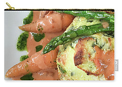 Asparagus Dish Carry-all Pouch by Tom Gowanlock