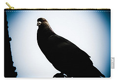 Astral Pigeon Carry-all Pouch by Loriental Photography