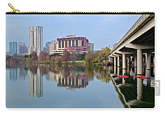 Austin Across Lady Bird Lake Carry-all Pouch by Frozen in Time Fine Art Photography