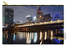 Austin From Below Carry-all Pouch by Frozen in Time Fine Art Photography
