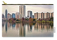 Austin Wide Shot Carry-all Pouch by Frozen in Time Fine Art Photography