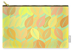 Autumn Leaves Pattern Carry-all Pouch by Gaspar Avila