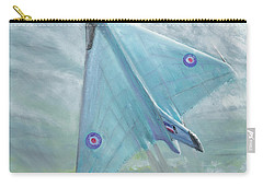 Avro Vulcan B1 Night Flight Carry-all Pouch by Vincent Alexander Booth