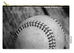 Babe Ruth Baseball Quote Carry-all Pouch by Edward Fielding