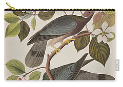 Band-tailed Pigeon  Carry-all Pouch by John James Audubon